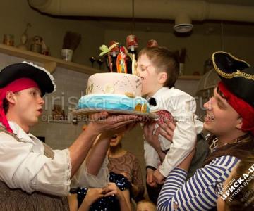 Пиратский день рождения Егора