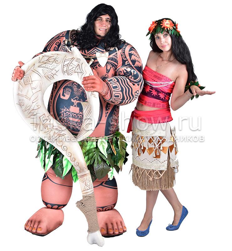 Путешествие Моаны и Мауи VIP