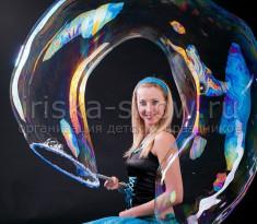 Шоу мыльных пузырей #1