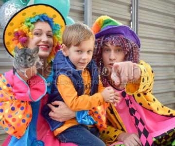 Клоуны на празднике у Вити