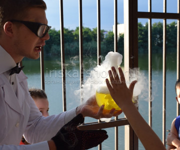 Химическое шоу в Краснодаре