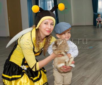 Пчелка и Лунтик Александру 3 года