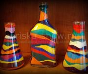 Волшебный песок в бутылочке